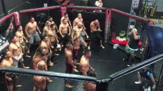 Jason Momoa Performs Haka for UFC Fighter Mark Hunt at Queensland Gym