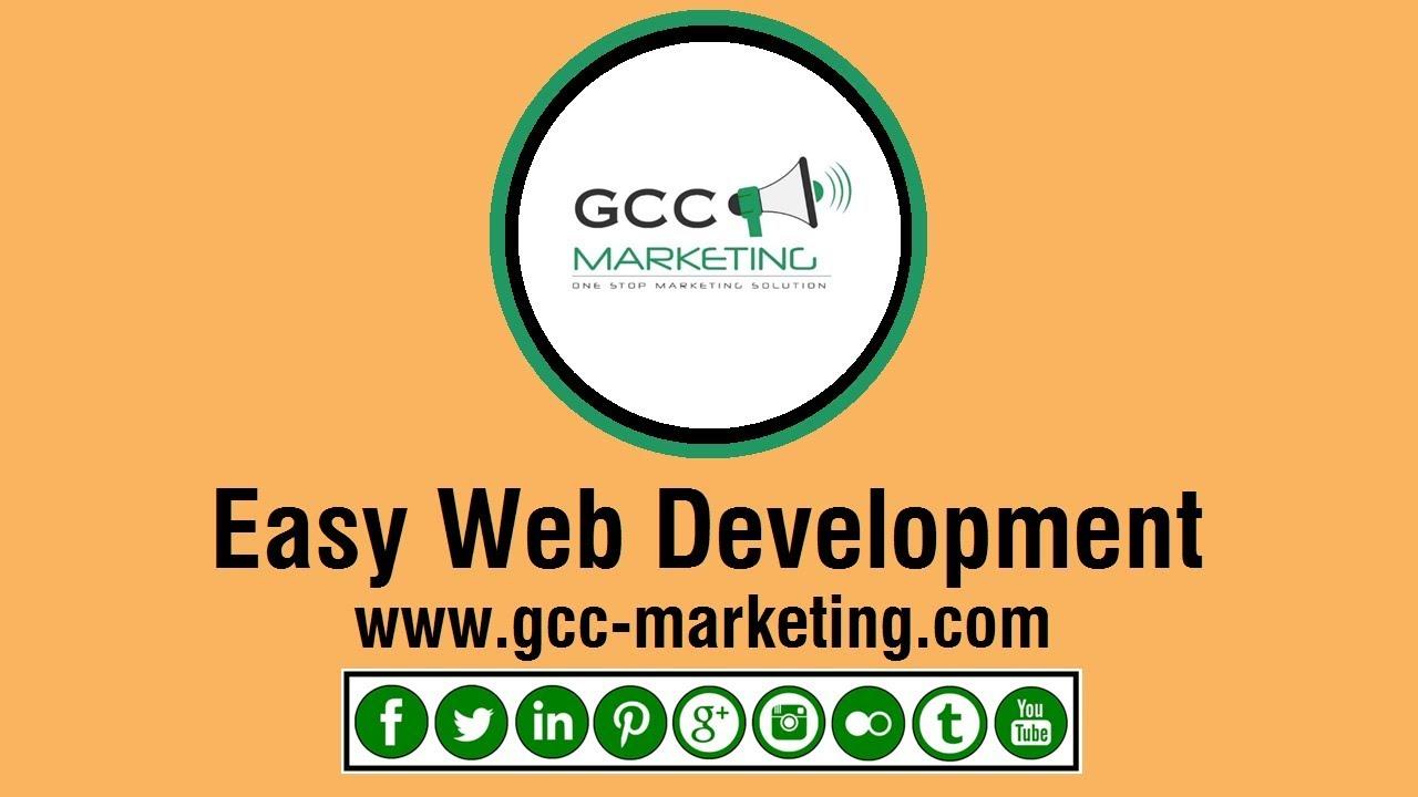 EASY WEB DESIGN - GCC MARKETING DUBAI
