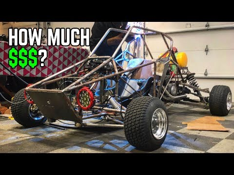 How Much Did it Cost to Build our 750cc Cross Kart?? + Paint!