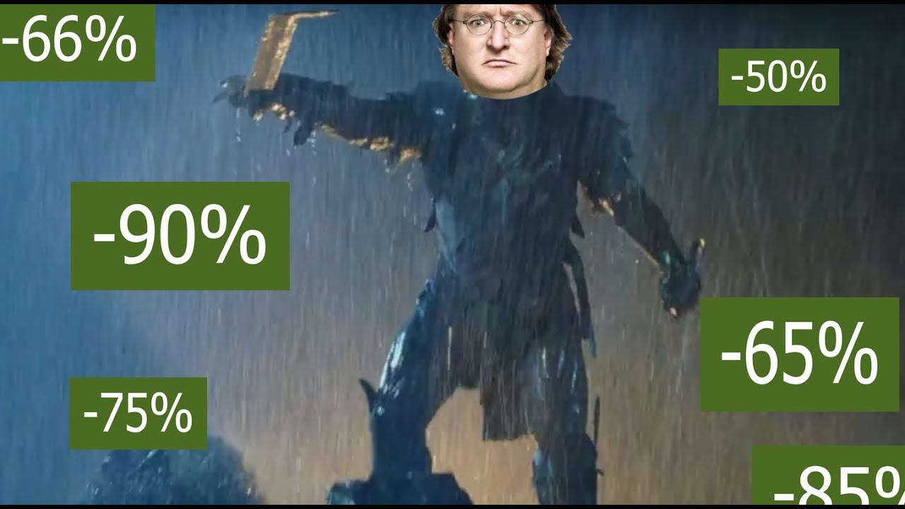 Steam Sales Could Be Coming, Let's Watch This Video And Weep