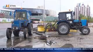 Потоп в Астане: ожидается очередная волна сильного дождя