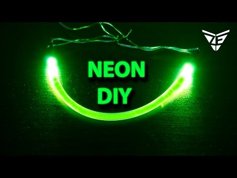 How to Make a Neon Light Strips