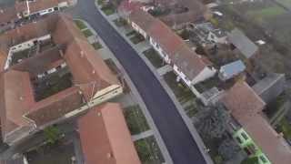 preview picture of video 'Nová asfaltka ve Velkých Němčicích'