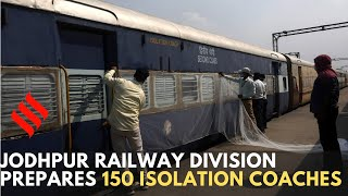Jodhpur Railway prepares 150 isolation coaches for Northern Railway - Download this Video in MP3, M4A, WEBM, MP4, 3GP