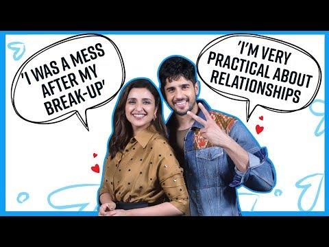 Sidharth Malhotra and Parineeti Chopra's candid confessions on love & heartbreak | Jabariya Jodi