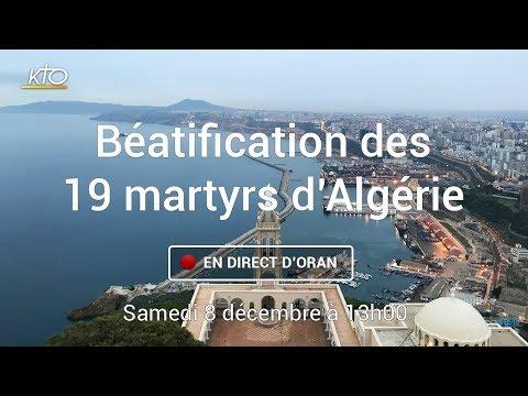 Messe de béatification des martyrs d'Algérie