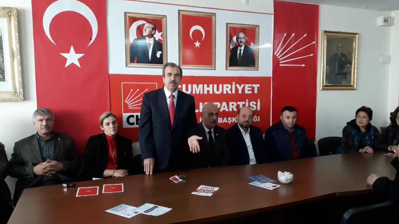Hayati Tekin'den Bafra CHP'de İYİ Parti'den Adaylık Yoklaması