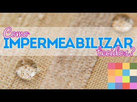 Impermeabilizar tecido