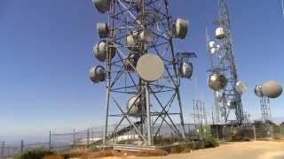 Mountain Top Radio Tower Antenna Farm 4K