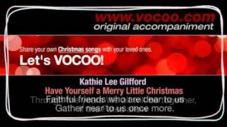 Kathie Lee Gifford - Have  yourself a merry little christmas