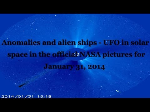 Anomalies and alien ships – UFOs in solar space in the official NASA pictures for January 31, 2014