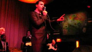 Darius Campbell singing Moves Like Jagger and Just Want to Make Love to You