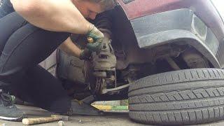 BMW E34 как починить тормоза