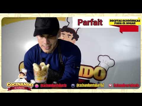 RECETA PARFAIT - COCINANDO EN TU BARRIO