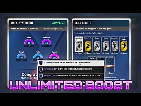 *NEW* NBA 2K20 UNLIMITED Boost GLITCH / METHOD  For Free in NBA 2K20