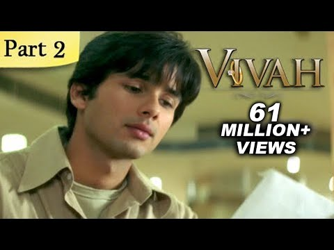 Vivah Hindi Movie | (Part 2/14) | Shahid Kapoor, Amrita Rao | Romantic Bollywood Family Drama Movies