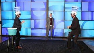 Хью Джекман, Снежная битва  Хью и Тэрона, на шоу Эллен ДеДженерес