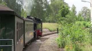 preview picture of video 'Lößnitzgrundbahn - von Radeburg nach Moritzburg'
