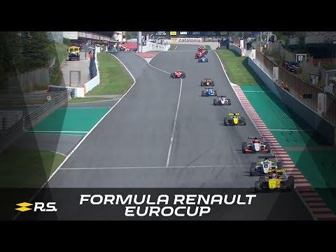 2018 Formula Renault Eurocup - Barcelona - Race 1 Highlights