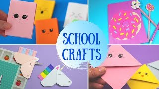 DIY School Crafts | Back To School Craft For Kids