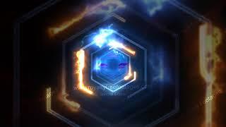 Neon animation background template loop, neon background effect, neon Motion Graphic Background HD