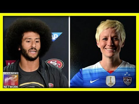 Trump-Hating US Soccer Player Megan Rapinoe RETURNS with a Message for Colin Kaepernick