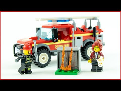 LEGO CITY 60231 Fire Chief Response Truck Construction Toy - UNBOXING