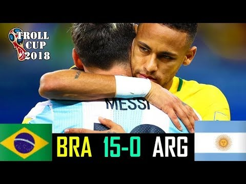 Brazil vs Argentina 15-0 | All Goals & Extended Highlights RÉSUMÉ & GOLES ( Last Matches )