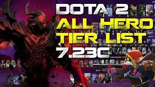 Ranking EVERY Hero In Dota 2 - Patch 7.23c