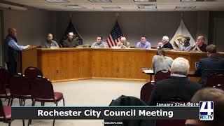 Rochester City Council - 2-26-19