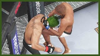 UFC 2 Ultimate Team Gameplay - THE TRAILER PARK CHAMP!!