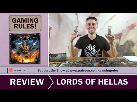 Lords of Hellas - Gaming Rules! Review
