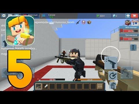 Blockman Go - Blockman Strike - Gameplay Walkthrough Part 5 (Minecraft)