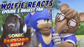"Wolfie Reacts: Sonic Boom Season 2 Episode 5 ""Biggest Fan"" Werewoof Reactions"