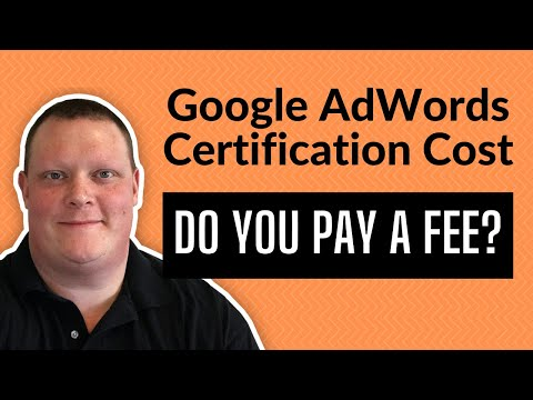 Google AdWords Certification Cost - This Sh$T is FREE - YouTube