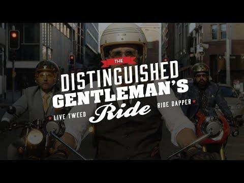 Distinguished Gentleman's Ride à la zone de Loisirs