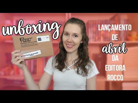 Unboxing - Parceira da Editora Rocco - Abril | Leituras de Deni