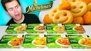 I Tried Every Kind Of Michelinas Frozen Entrees... BEST TO WORST Taste Test!