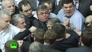В Верховной раде Украины снова подрались