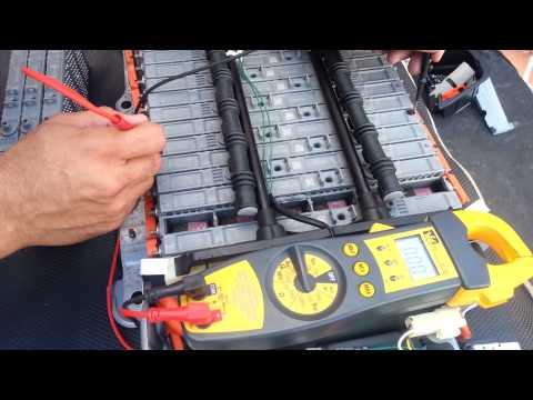 Testing a Prius Hybrid Battery