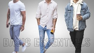 Mens Minimal Wardrobe: Basic Essentials 2020
