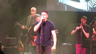 The Pogues and Damien Dempsey perform Streams Of Whiskey at the NCH Dublin Jan. 15th 2018