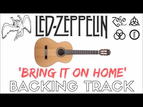 Led Zeppelin - 'Bring It On Home' [Backing Track]