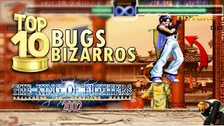 BUGS BIZARROS EM THE KING OF FIGHTERS 2002 | KOF da Depressão