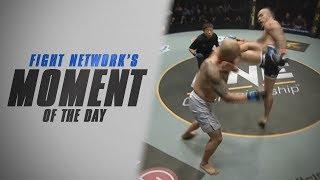 Moment of the Day: Brandon Vera head kicks Paul Cheng at ONE: Spirit of Champions