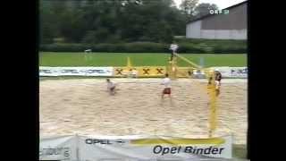 preview picture of video 'Nostalgie 3: 1996 Steirisches Beachvolleyballfinale'
