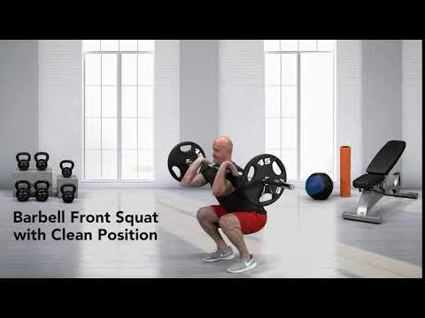 Front Squat (weightlifting style)