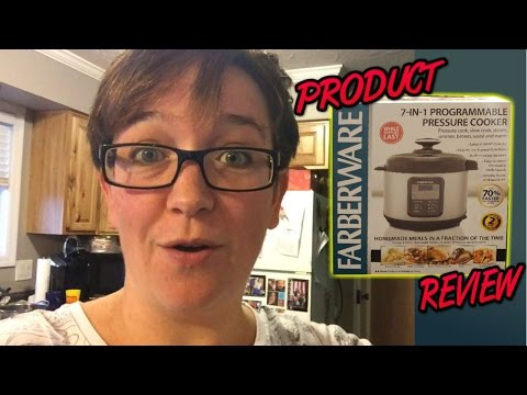 Farberware pressure cooker unboxing and review
