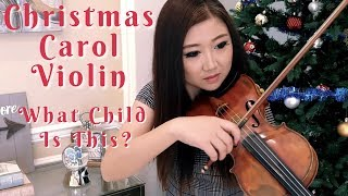 What Child Is This? - Christmas Carol Violin Cover by Michelle Jin