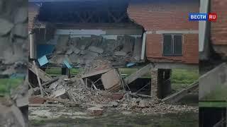 В селе под Иркутском во время уроков обрушилось здание школы.